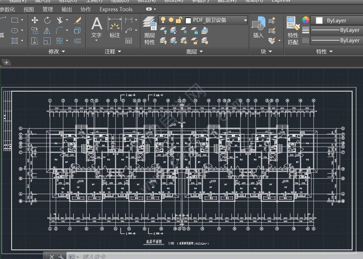 如何将pdf转cad格式(dwg格式)  pdf转cad CAD cad格式转换 CAD图纸 第4张